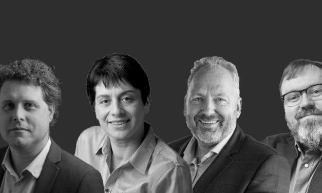 NZ as an Innovation Hub: Rod Drury, Peter Beck, Anna Kominik, Bill O'Connor