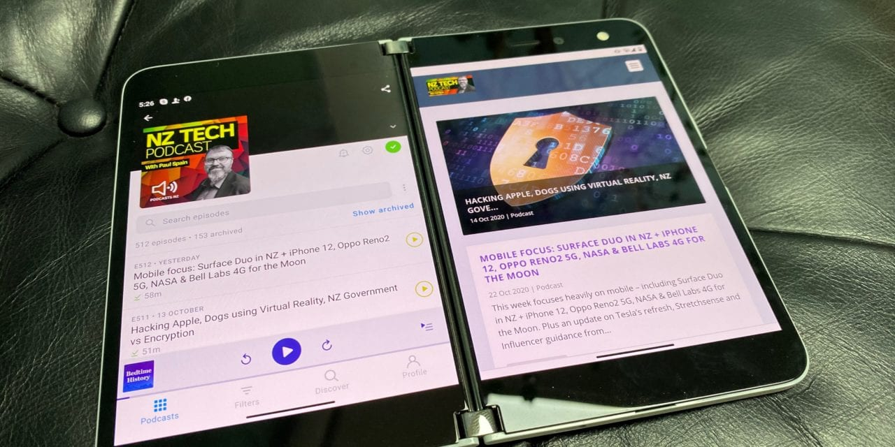 Mobile Focus: Surface Duo in NZ + iPhone 12, Oppo Reno4 5G, NASA & Bell Labs 4G for the Moon