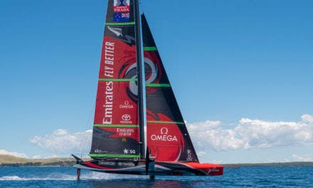 America's Cup Innovation – Tim Meldrum (Emirates Team NZ), Oliver Hill (HP)